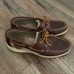 Leather Sperry Top-Siders